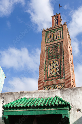 Ancient mosque in Medina. Old part of Tangier town, Morocco