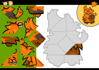 cartoon guinea pig jigsaw puzzle game
