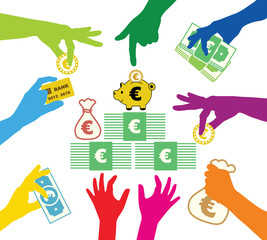 Creating common property in Euros