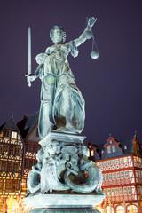 Justitiabrunnen in Frankfurt
