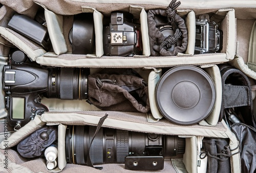 Backpack Photography Set