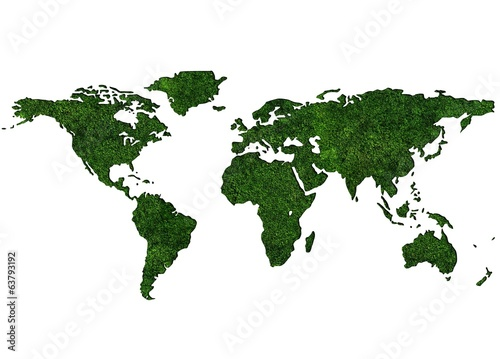 Grassy World Map