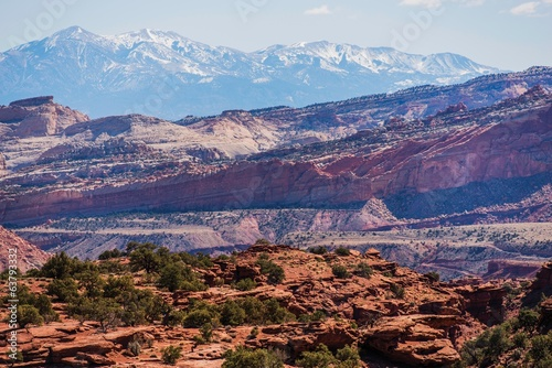 Colorful Utah Landscape