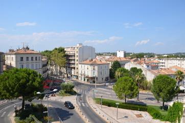 Vue urbaine de Montpellier