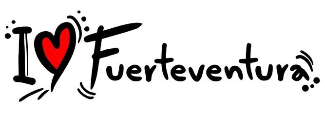 Love fuerteventura