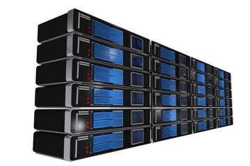 Rack Servers Isolated