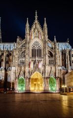 Cologne Cathedral facade and all its splendour