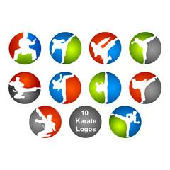 10 Karate Logos