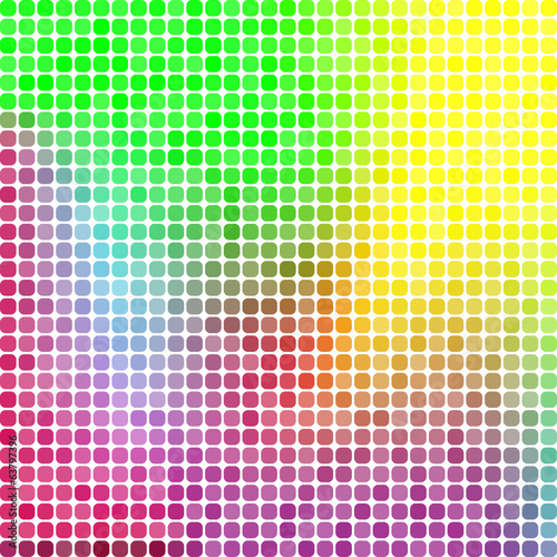Abstract pixel mosaic background