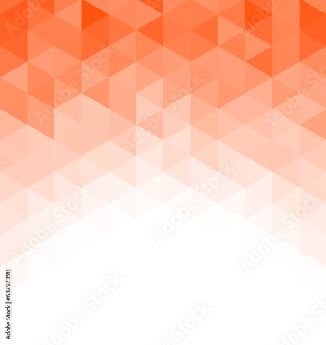 Abstract triangle mosaic background