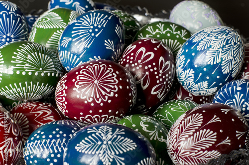 Easter - colorful eggs