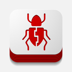 app concept, beetle, insect