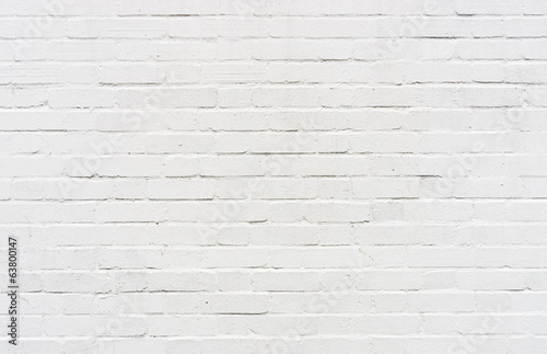 White brickwall surface