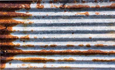 rust zinc plate