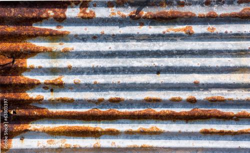 canvas print picture rust zinc plate