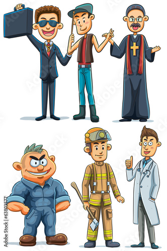 Man Various Profession