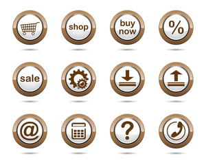 button_set_brown