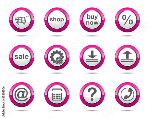 magenta_web_button_set