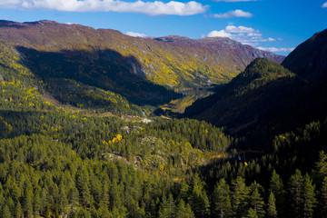 landscape of Southern Vestlandet, Norway