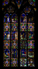 interior of Cathedral Notre Dame, Strasbourg, Alsace, France