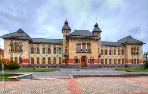 local history museum in Poltava. Ukraine.
