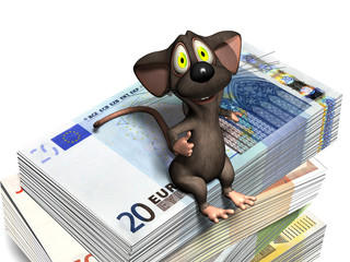 mouse_sitting_on_eurobills