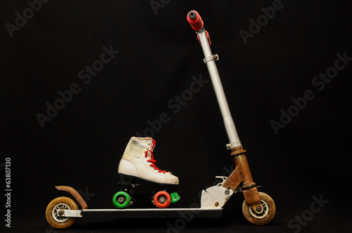 metal scooter for child