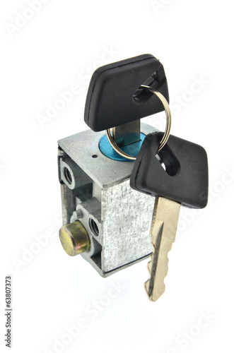Switch key lock. motorcycle