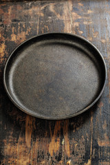old frying pan