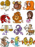 horoscope zodiac signs set