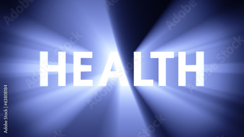 Illuminated HEALTH