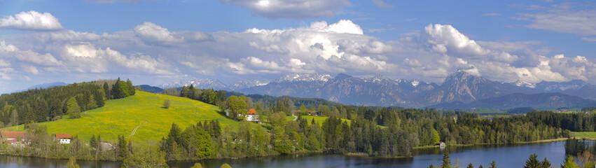 Panorama Landschaft im Allgäu