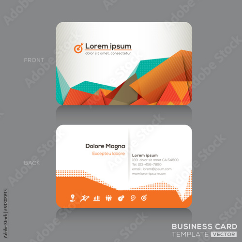 Modern Business cards Design Template