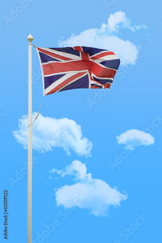 Flying Union Jack