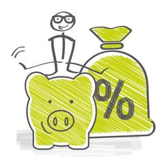 Geldanlage Zinsen