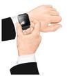 Smart watch gesture.