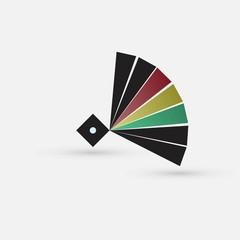 colored circle icon
