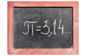 pi handwritten