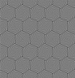 Seamless geometric hexagons pattern.