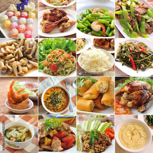 Fotobehang Restaurant Thailand food