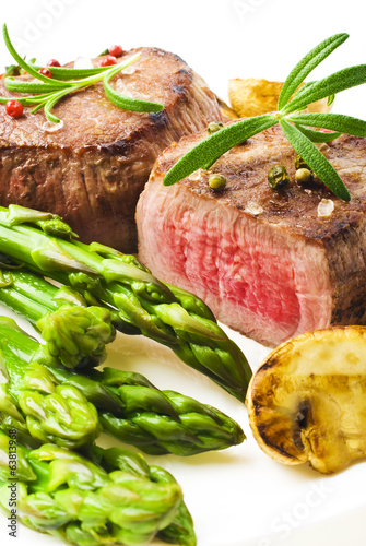 Juicy Organic Grilled Steak