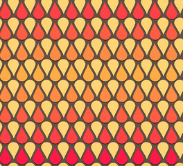 seamless vector abstract drop pattern