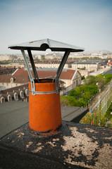 cheminée toit de Paris