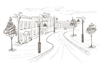 Illustration -- Old City
