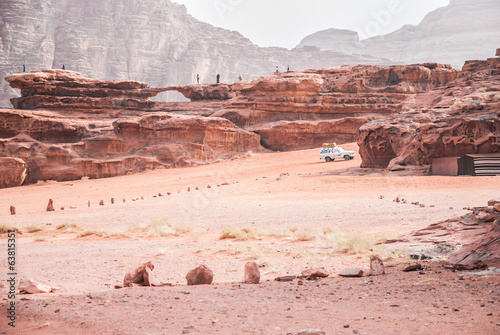 Jeep safari in Wadi Rum desert, Jordan