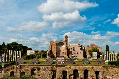 Temple of Venus and Roma in Rome