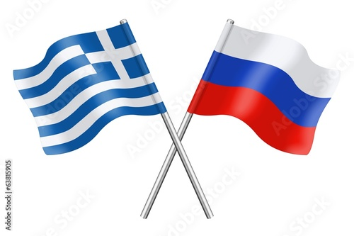 Flags : Greece and Russia