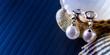 pendenti in oro bianco e perle - 63816571