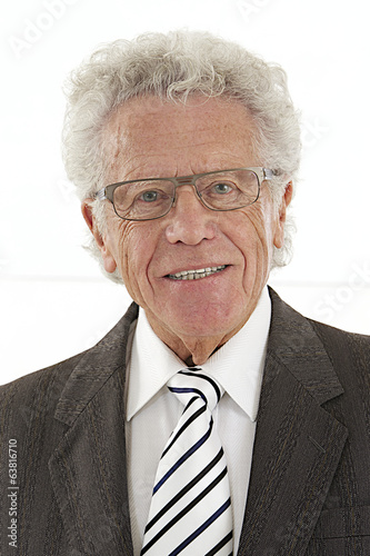 Senior Executive portrait  with eyes glasses