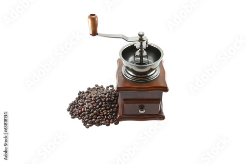 Coffee Grinder with peaberry beans